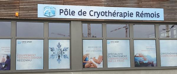 Pole de cryothérapie - Bezannes